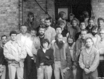Vor 25 Jahren: Die Sozialdemokratische Partei in der DDR (SDP) wird in Schwante bei Berlin gegründet