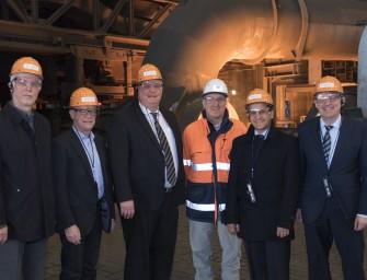 SPD-Besuch aus Bund und Land bei thyssenkrupp AG