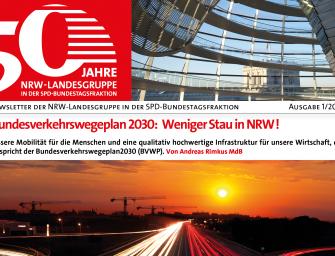 Neue Ausgabe des Newsletters der NRW-Landesgruppe