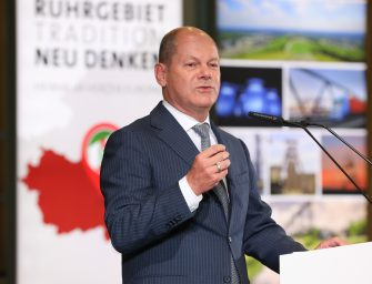 """Ruhrgebiet – Tradition neu denken"" Olaf Scholz am 14. September 2018 in Bottrop"