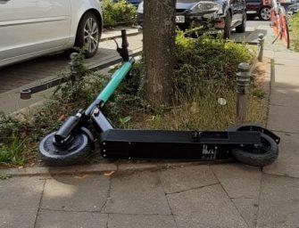 E-Scooter – alles andere als nachhaltig