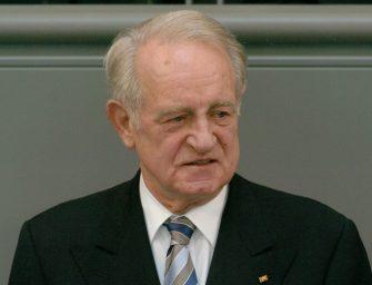 Zum 90. Geburtstag von Johannes Rau: Versöhnen statt spalten