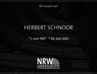 Achim Post zum Tod von Herbert Schnoor